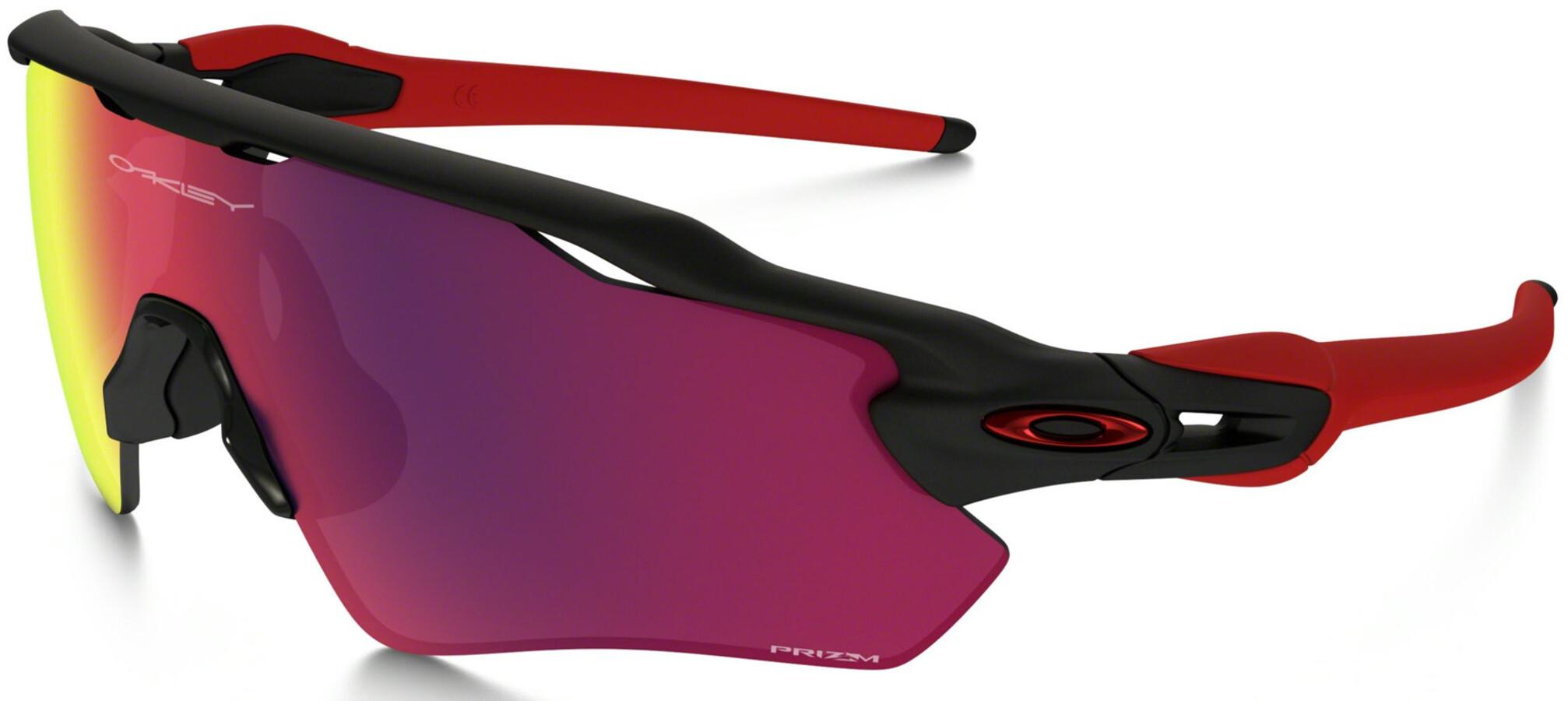 202fa5bea18562 Oakley Radar EV XS Path - Lunettes cyclisme - rouge noir - Boutique ...